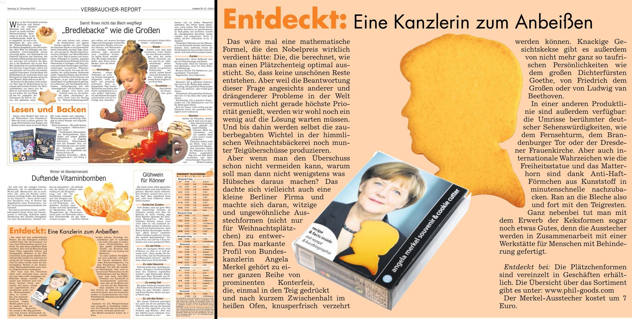 Badische Neueste Nachrichten 11 / 2015